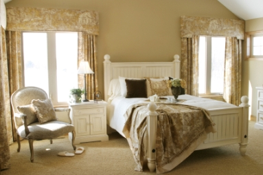 Bedroom Designer on Floral Or Checked Fabric Made Of Simple Materials  Like Cotton And