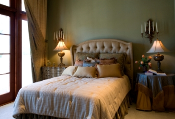 Interior Design Bedroom on Tuscan Interior Design Bedroom