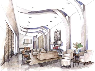 Interior Designbedroom on Interior Lobby